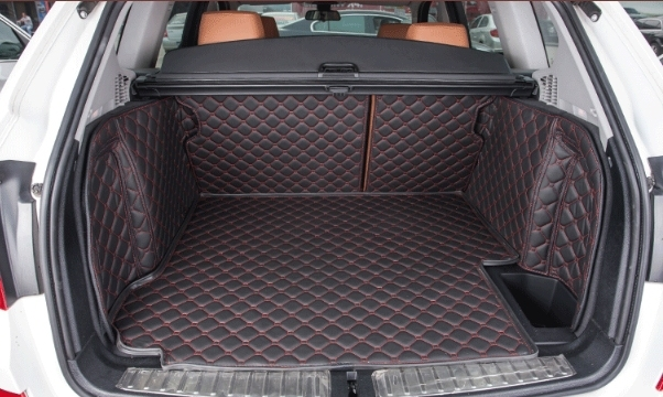 ¡Buena calidad! Conjunto completo de maletero de coche esteras para BMW X3 F25 2017-2011 durable de alfombras de carga de las Esteras para X3 2014 envío Gratis