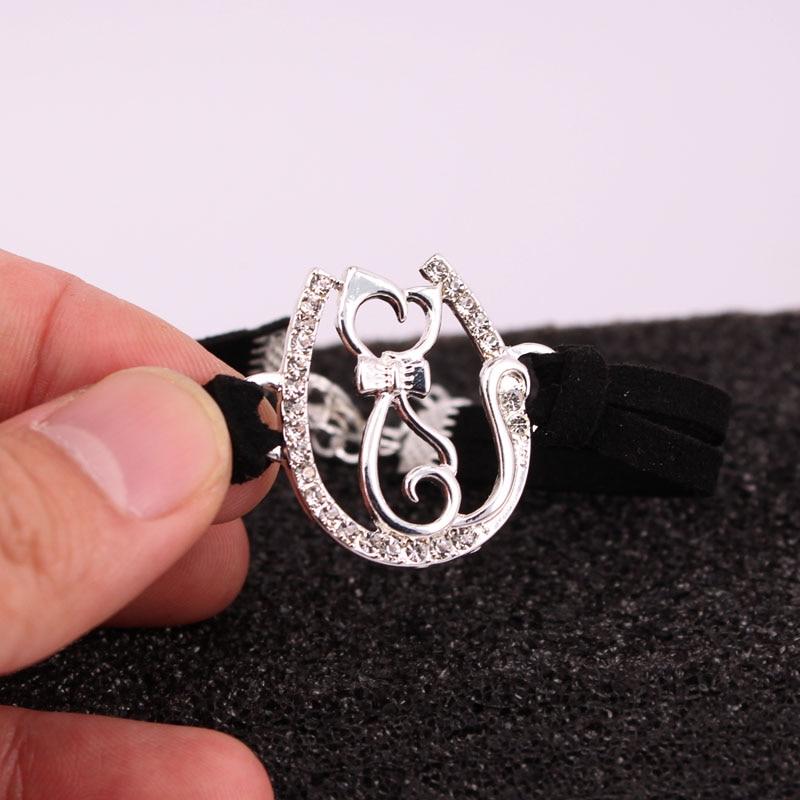 hzew u shape cat bracelet chrismas gift bracelets 8