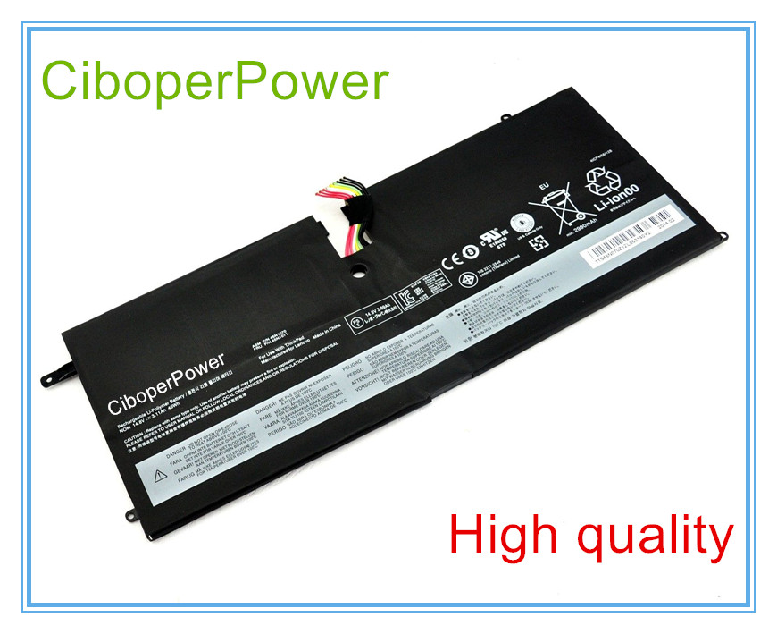 High quality 45N1070 Laptop Battery for 3444 3448 3460 45N1071 14 8v 46wh new original laptop battery for lenovo thinkpad x1c carbon 45n1070 45n1071 3444 3448 3460
