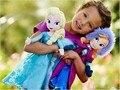 Новый Бесплатная Доставка высокое качество детские игрушки плюшевые игрушки Снежная Королева принцесса кукла 40 см Анна и Эльза Олаф Brinquedos Даже лучшие игрушки