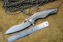 DICORIA TUN 0427 flipper klappmesser M390 klinge keramik-kugellager TC4 griff outdoor camping jagd taschenmesser