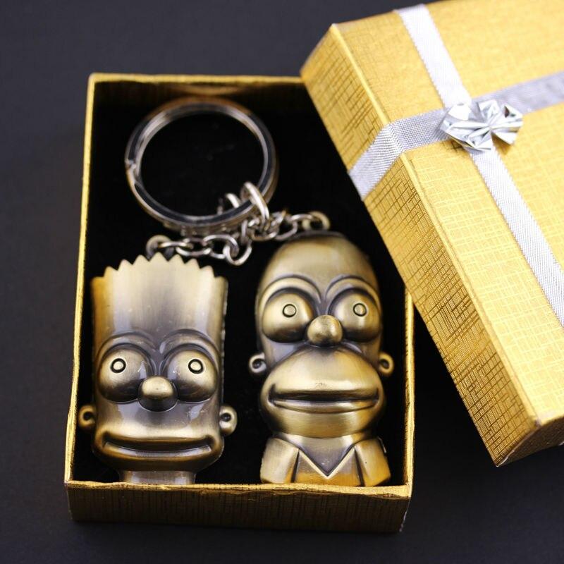 The Simpsons Homer Butt Simpson Keyring NEW