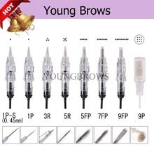 Beauty Health - Tattoo  - Easy Click Tattoo Needles 10 Pcs  For Sharp 300 Permanent Makeup Machine