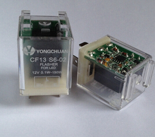 CF13 S6-02 12V Anti foot type Automotive LED flasher Turn signal control relay Flasher for