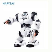 Figuras de acción de chico de gran tamaño, robot eléctrico para caminar con música ligera, juguetes musicales para niños y adultos