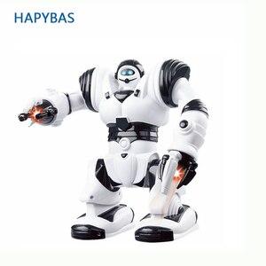 Image 1 - ขนาดใหญ่เด็กซูเปอร์ฮีโร่หุ่นยนต์เดินหุ่นยนต์ไฟฟ้าด้วย Light เพลงของเล่นดนตรีเด็กทารกผู้ใหญ่ Action Figures