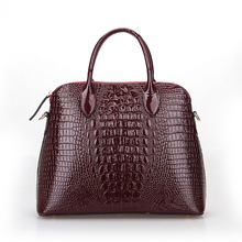 New style shoulder bags European and American Style Crocodile Grain bags handbags women famous brands