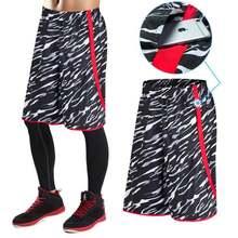 Мужские камуфляжные баскетбольные шорты Джерси спортивные для