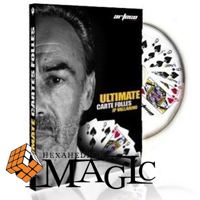 ultimate cartes folles JP vallarino / close-up stage street card magic tricks products wholesale free shipping