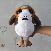 1 sztuka star wars 8 nowy Porg ptak Pluszowe Zabawki Lalki Dla dzieci Prezenty i urodziny star wars fani kolekcja zabawki