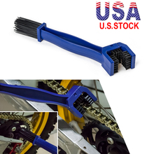 Motorcycle Bicycle Chain Clean Brush Gear Grunge Brush Cleaner Outdoor Cleaner Scrubber Tool Universal Off-Road Dirt Pit Bike #8