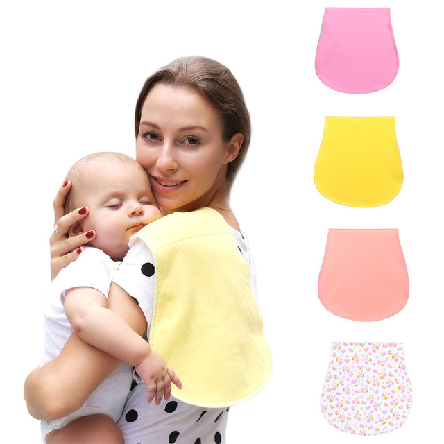 100% Organic Cotton Bibs Baby Burp Cloths For Newborns Soft And Absorbent Towels Burping Rags For Newborns Baby Shower Gift Set