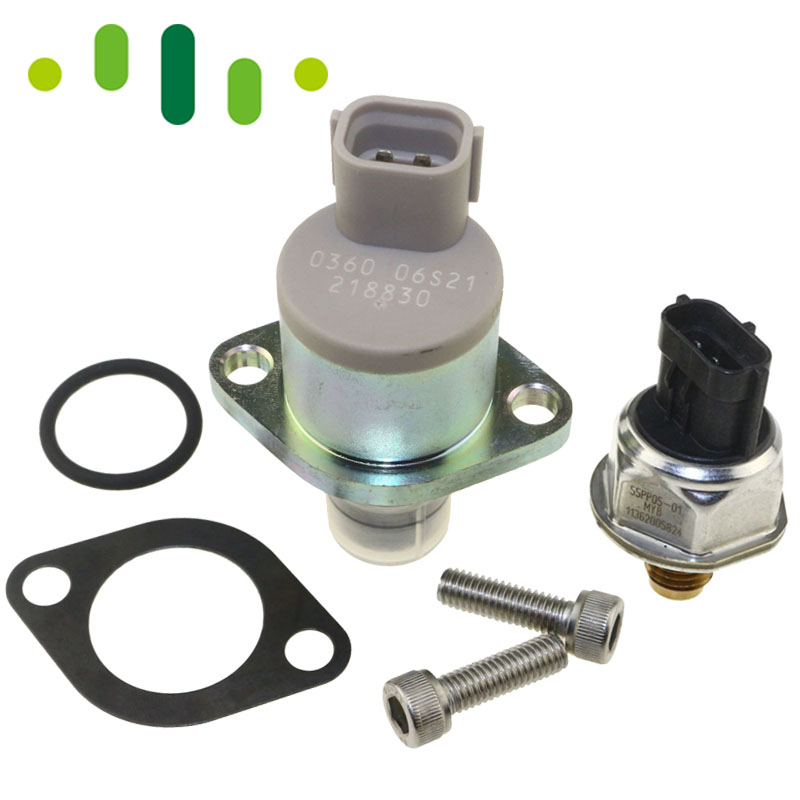フォードトランジットのための MK7 2.2 2.4 燃料ポンプバルブレール高圧センサーキット TDCi HDi  グループ上の 自動車 &バイク からの 油搾り機 調節弁 の中 1