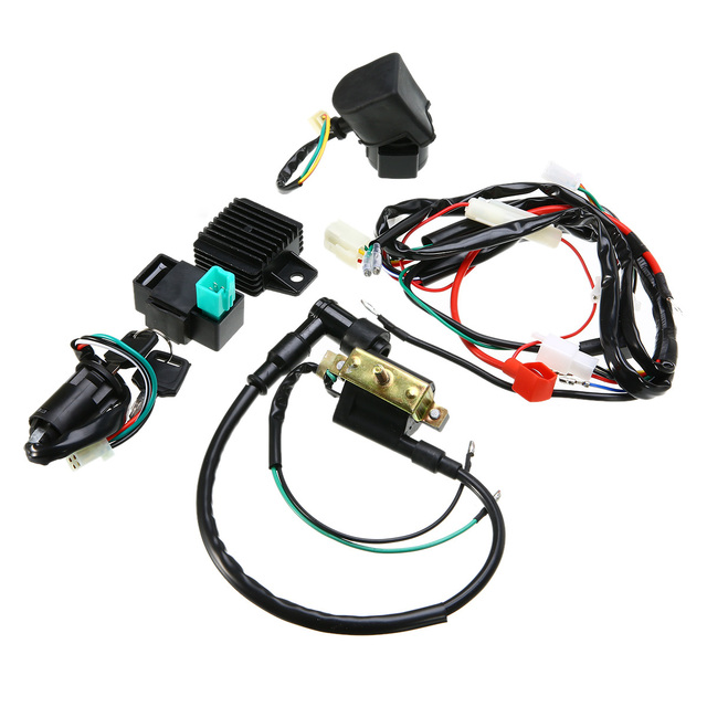 gt wiring harness wiring diagram basic gt electrical gt 70cc 110cc 125cc pit bike dirt bike wire harnessmotorcycle ignition 50cc 125cc cdi