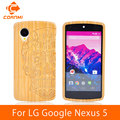 CORNMI For LG Google Nexus 5 Cover Case New Arrival Wood Pattern Housing For LG Nexus 5 Cell Phone Back Covers And Cases JTH