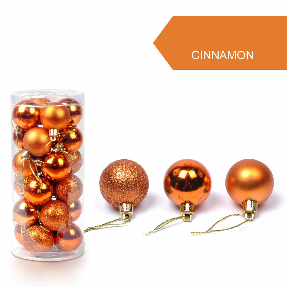 30mm Christmas Xmas Tree Ball Bauble Hanging Home Party Ornament Decor Nov29