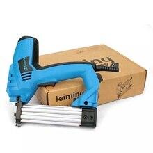 Электрический строительный степлер 2 в 1, 200-240 В, гвоздезабиватель и степлер, электрический инструмент для ногтей с гвоздями 500 шт. для деревя...