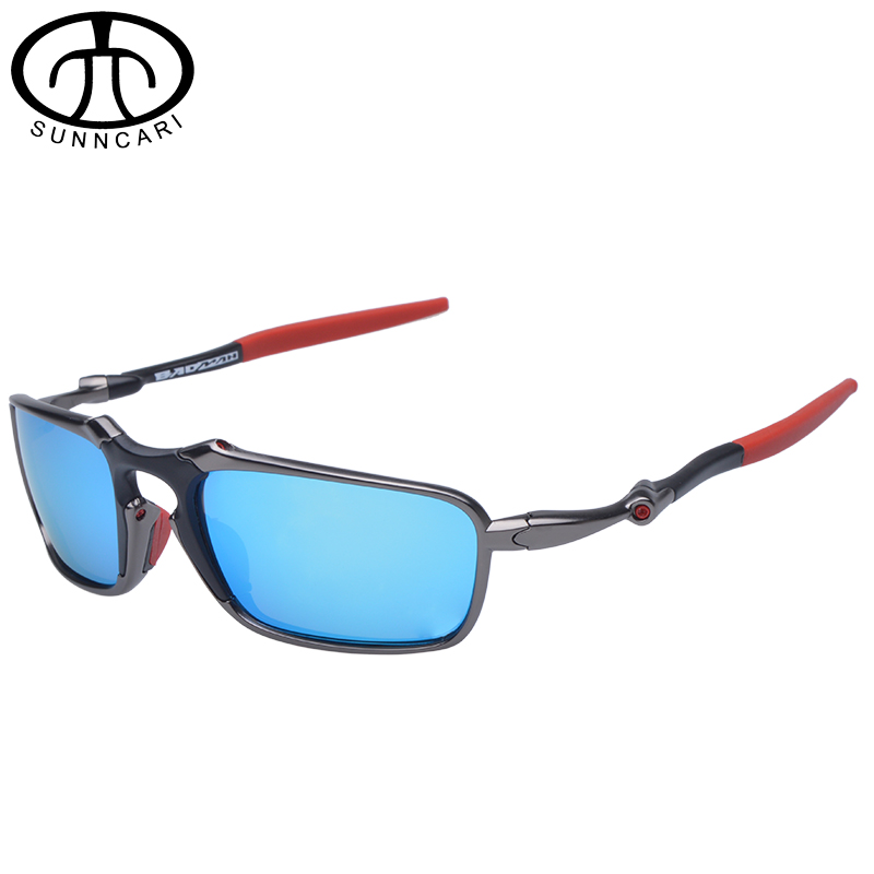 Prix pour D'origine Marque Vélo Verre lunettes de Soleil Polarisées Alliage Cadre Vélo Lunettes Avec Logo oculos de sol 6020