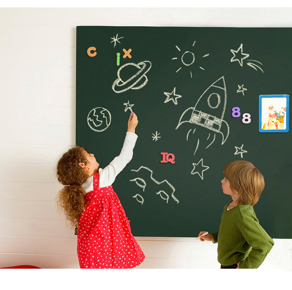 Green Drawing Board Toys Removable Erasable Drawing Graffiti Writing Learning Message Chalk Board Toy Kids Child Teaching Aids_06