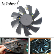 New 85mm T129215SU Cooling fan Replace For ASUS MSI Gigabyte GTX 1060 Mini 1050 960 460 570 580 R9 290X Video Card Cooler Fan(China)