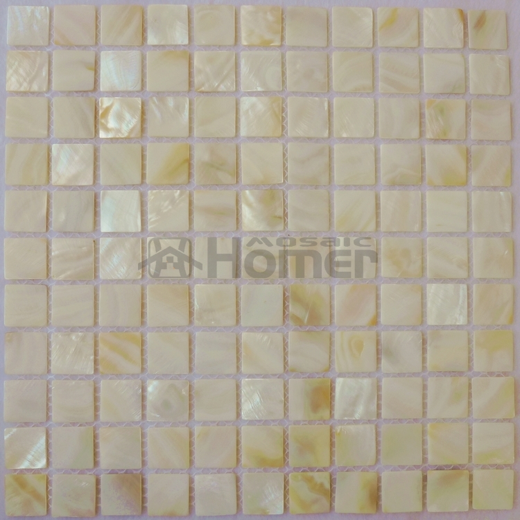 White Bathroom Mosaic Tiles Mother Of Pearl Backsplash Shell Mesh Backing 2mm Thick In Wall Stickers From Home Garden On
