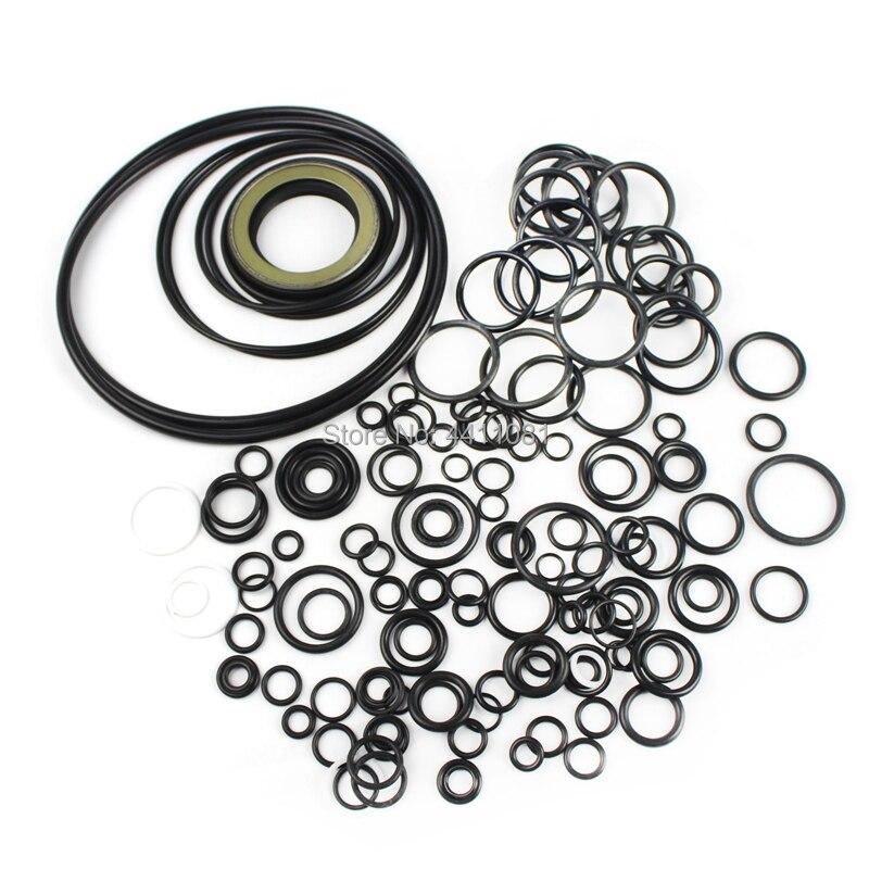 Pour le Kit de Service de réparation de joint de pompe hydraulique Komatsu PC200-3 joints d'huile d'excavatrice, garantie de 3 mois - 3