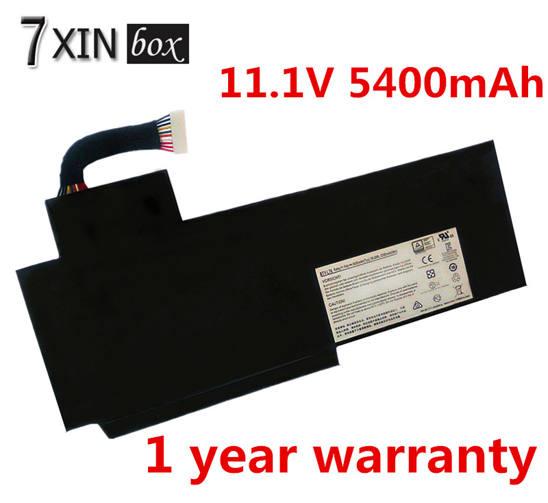 11.1V 5400mAh   Laptop Battery BTY-L76 For MSI GS70 GS72 GS60 Series Erazer X7613 MD98802 MS-1771 XMG C703 erazer