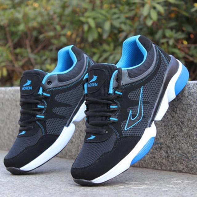 ce3136d8 Hombres transpirable calzado deportivo zapatillas deportivas hombre la  tendencia de chaussure zapatos hombre mens entrenadores hombre
