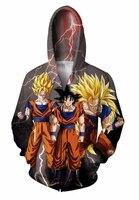 2017 Newest Women Dragon Ball Hoodies Mens 3D Sweatshirt Harajuku Coat Brand Clothing Sudaderas Hombre Plus Size S 5XL R2779