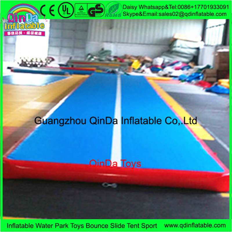 Stickers chinese inflatable gym mat,tumble track inflatable air gymnastics mat for Inflatable Float Matress Competition free shipping 6 2m inflatable gym air track inflatable air track gymnastics