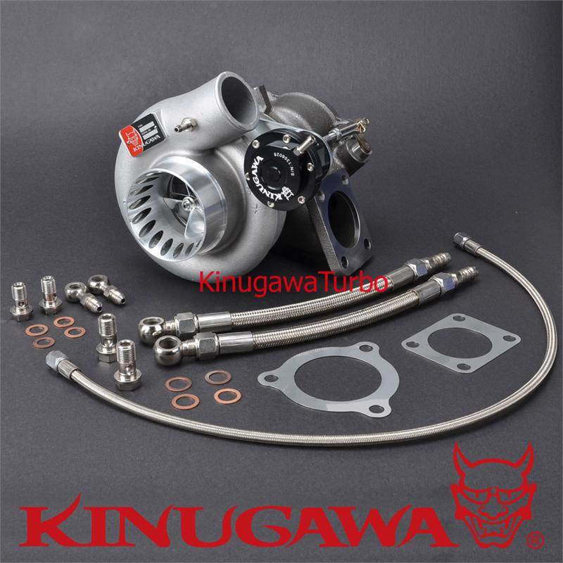 Kinugawa Turbocharger 3 Anti Surge TD06LS2-20G 8cm for HYUNDAI GENESIS kinugawa gtx ball bearing turbocharger 3 anti surge gtx2860r ar 64 t25 5 bolt internal page 9