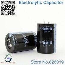 25 шт./лот 100 В 6800 мкФ радиальный DIP Алюминий электролитический Конденсаторы Размер 35*50 6800 мкФ 100 В