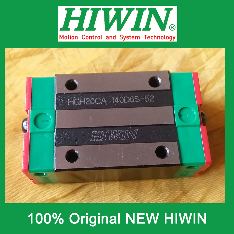 все цены на 1pcs HIWIN HGH20 HGH20CA HG20 New original linear guide block Original HIWIN Linear Guide CNC Parts Stock Good онлайн