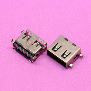 YuXi Brand New short type USB Connector USB 2.0 Laptop USB Connector Sink type Copper down