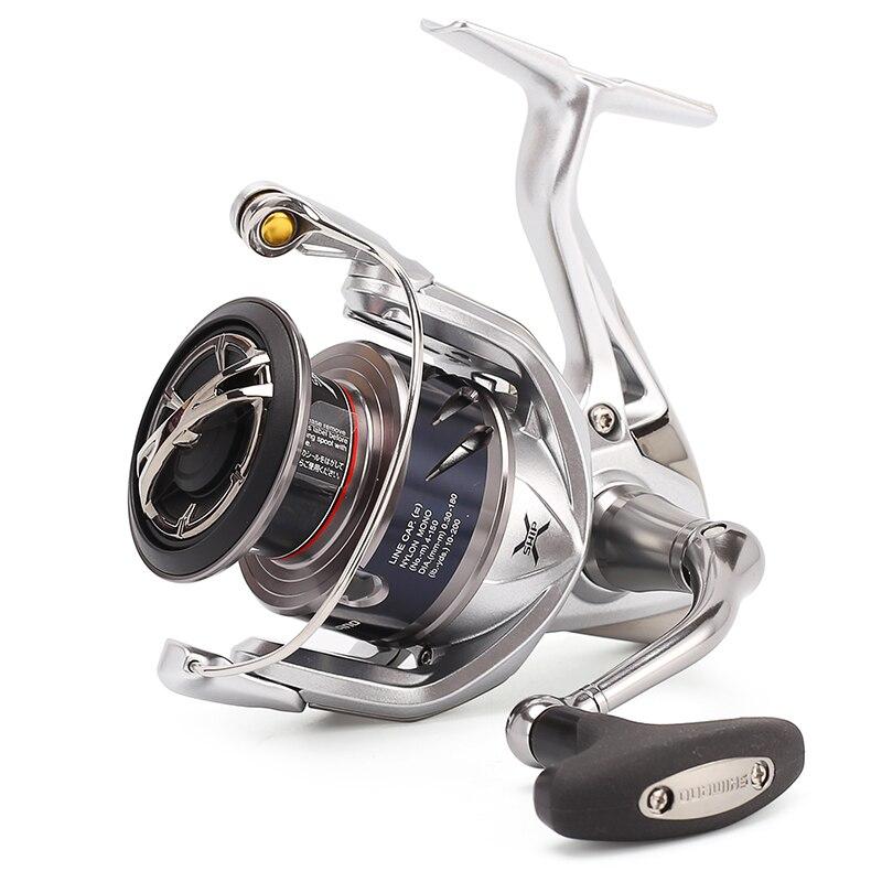 Prix pour 2016 D'origine Shimano Stradic 2500HG 4000XG C5000XG Spinning Reel Fishing Saltwater 6 + BB Max Glisser 24LB X-SHIP HAGANE Conception