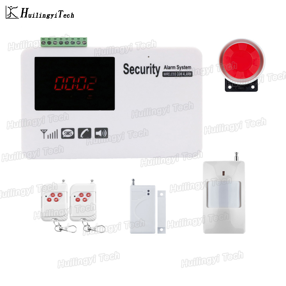 GSM Burglar Protect Home Alarm System With APP Wireless Home Security GSM Alarm System SMS notice Alarm for power off bulk order price best ethernet alarm wireless tcp ip alarm gsm alarm system for smart home security protection alarm with app