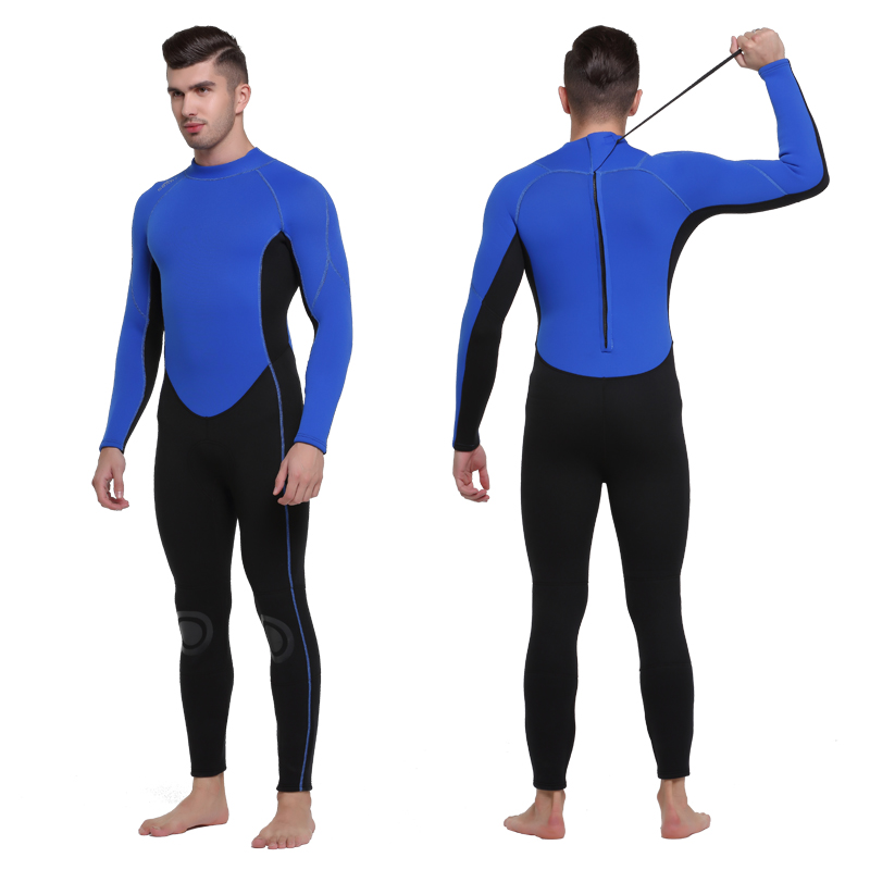 SBART Men's 3mm Neoprene Diving Suits Surfing Wetsuit Warm Full Body Skins Suit for Diving Snorkeling Swimming Spearfishing L sbart new neoprene wetsuit men 3mm full body swimming scuba diving surfing wetsuits spearfishing suits surf suit