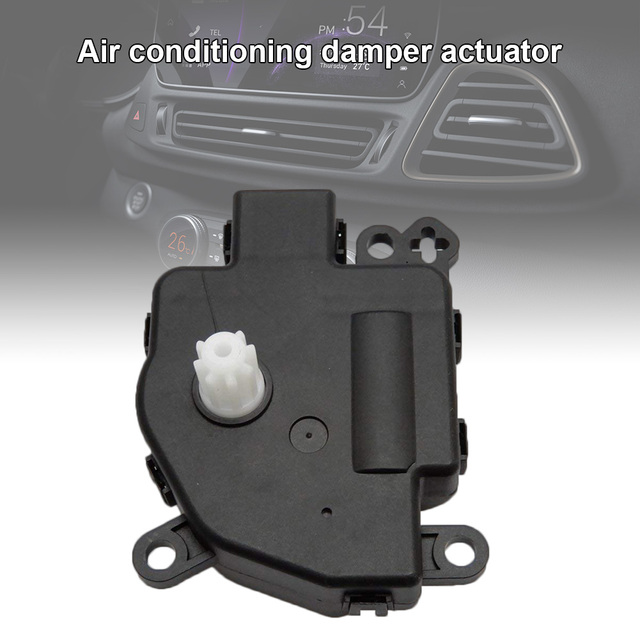 US $13 55 39% OFF New Heater Blend Door Actuator 68018109AA for Chrysler  200 Dodge Avenger Jeep Compass Ram CSL2018-in Air-conditioning Installation