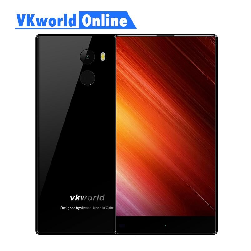 Vkworld Mix Plus Mobile Téléphone 5.5 plein Écran 3 GB RAM 32 GB ROM MTK6737 Quad Core 13MP D'empreintes Digitales 2850 mAh 4G Lte Smartphone