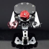 Fite для Ducati Monster 696 2008 2014 черный мотоцикл обратный Детская безопасность Регулируемая рулевая демпфер стабилизатор с кронштейн