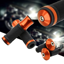 22MM Motorcycle handle grips Motorbike handlebar ends for ktm rc 390 1190 adventure 1290 990 adventure 1290 super duke motorcycle for ktm 1290 super adv ktm 1290 super adventure r handlebar ends motorcycle accessories aluminum handlebar grips