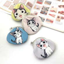 Handmade bag/ cute cat cotton fabric for diy sewing craft material tissu/ Material packages/ Coin Purse/ Non – finished product