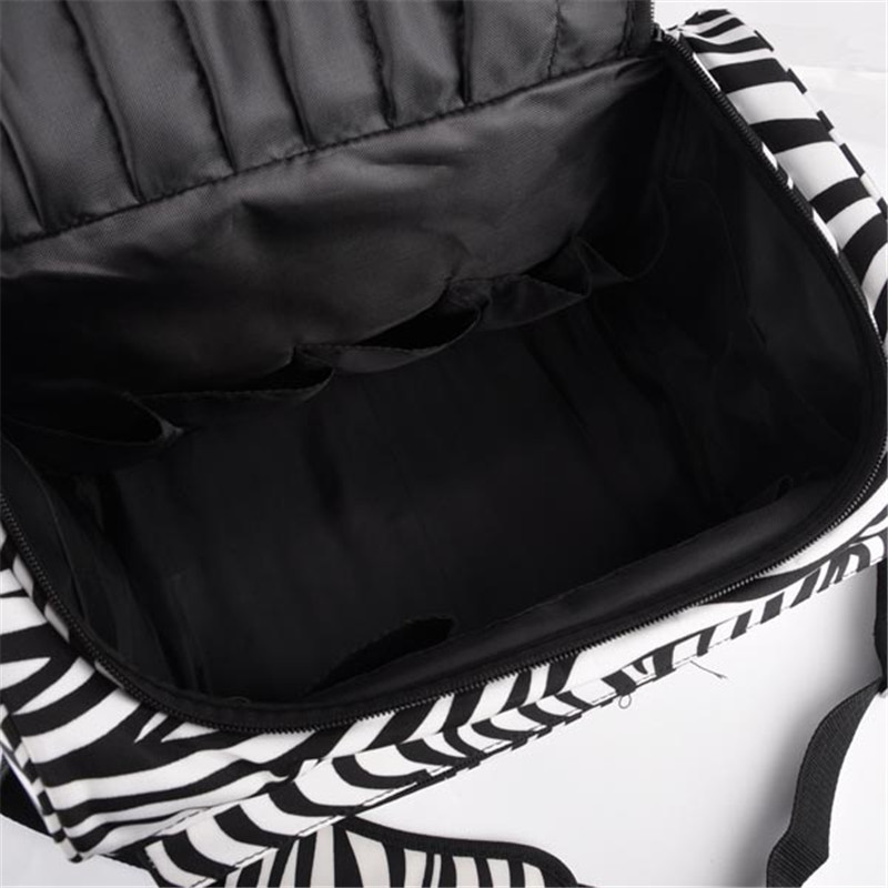 Professional Hair Tool Bag Zebra Design Hairdressing Salon Portable Case For Styling Tools Storage In Scissors From Beauty Health On