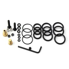 PCP Pump High Pressure Air Pump Accessories Spare Kits NBR Copper Sealing O-rings 40mpa 400bar 6000psi Replacement Kit 28PCS/SET(China)