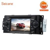Seicane 5 인치 2 딘 자동차 DVD 플레이어 2006-2008 닷지 구경 AUX USB 라디오 튜너 GPS 네비게이션