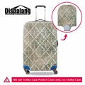 Dispalang variedade artística flor listrado viagem bagagem capa protetora para 18-30 polegada caso mala elástica capa com zíper