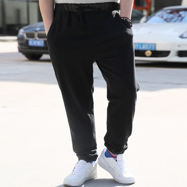 2016 Fashion Mens Joggers Solid Casual Hip Hop male Jogger Harem Pants open air Sweatpants Men Trousers Pantalon Homme 5XL 252