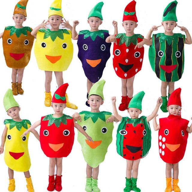 Children Kids Halloween Party Children's Day Cartoon Fruit