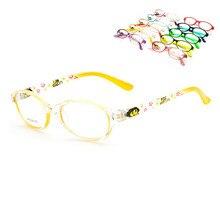 Новые модные детские очки с полной оправой, очки для близорукости, очки для мальчиков и девочек
