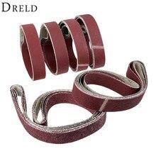 5Pcs 50*1800mm Polishing Sanding Belt Aluminium Oxide Sandpaper Grinder for Dremel Accessories 36 60 80 120 240 400 Grit